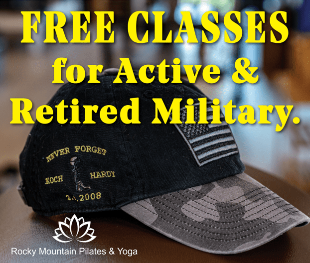 FREE CLASSES for Active and Retired Military