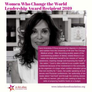 Registered dietician nutritionist Carol D'Anca Carol D'Anca