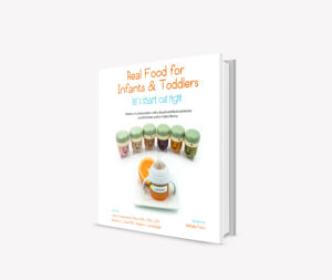 Plant based recipes for infants and toddlers