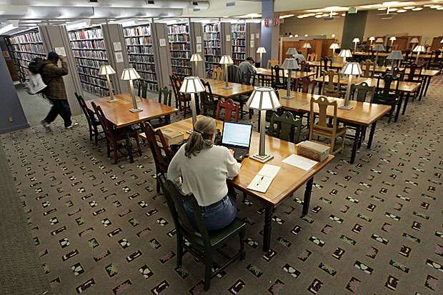Los Angeles County Library System's Growing Financial Deficit