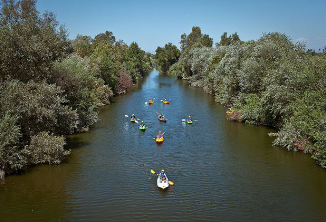 Los Angeles River is Open for Recreation
