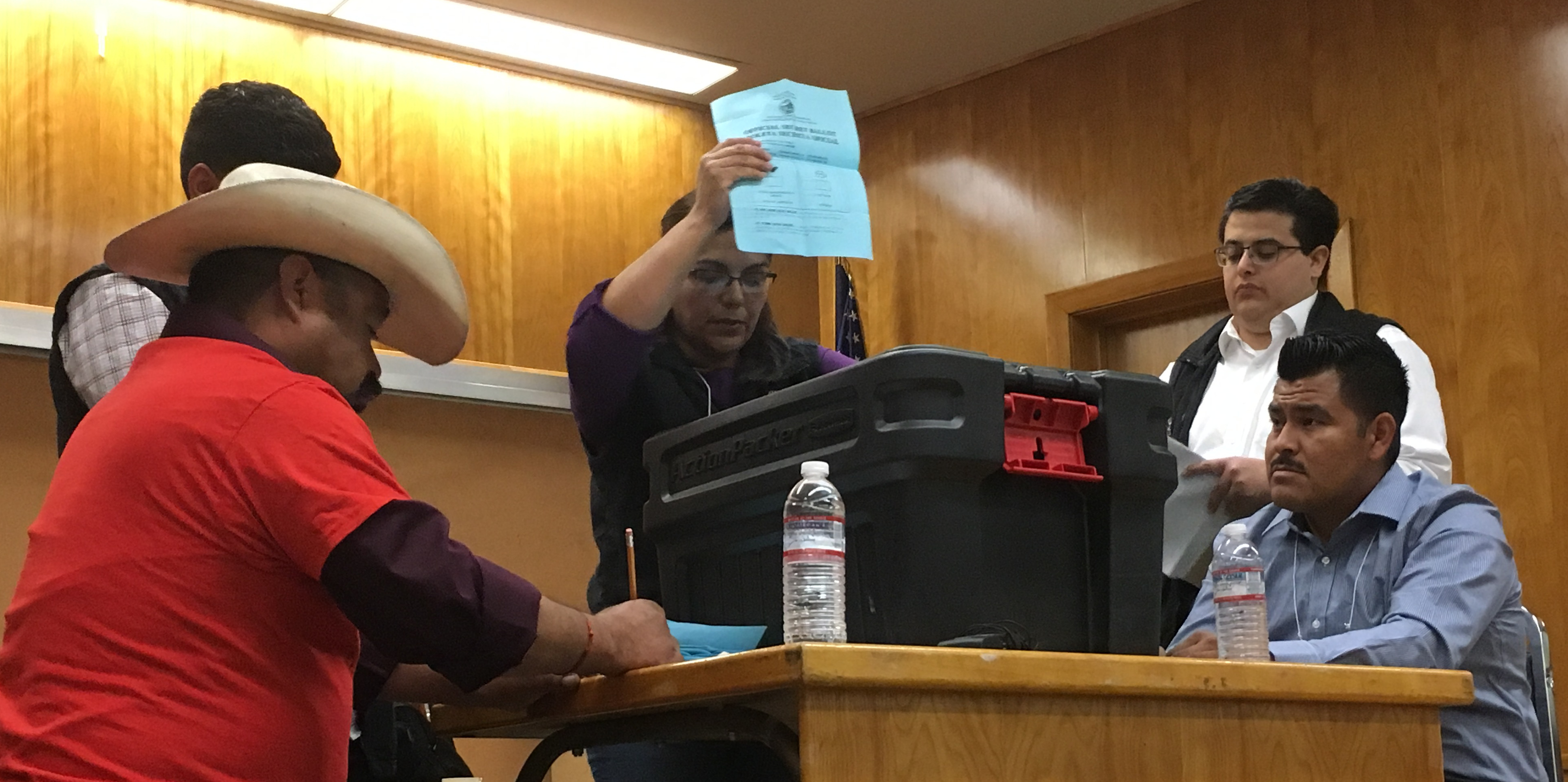 Farmworkers win Election to Reject the United Farm Workers Union