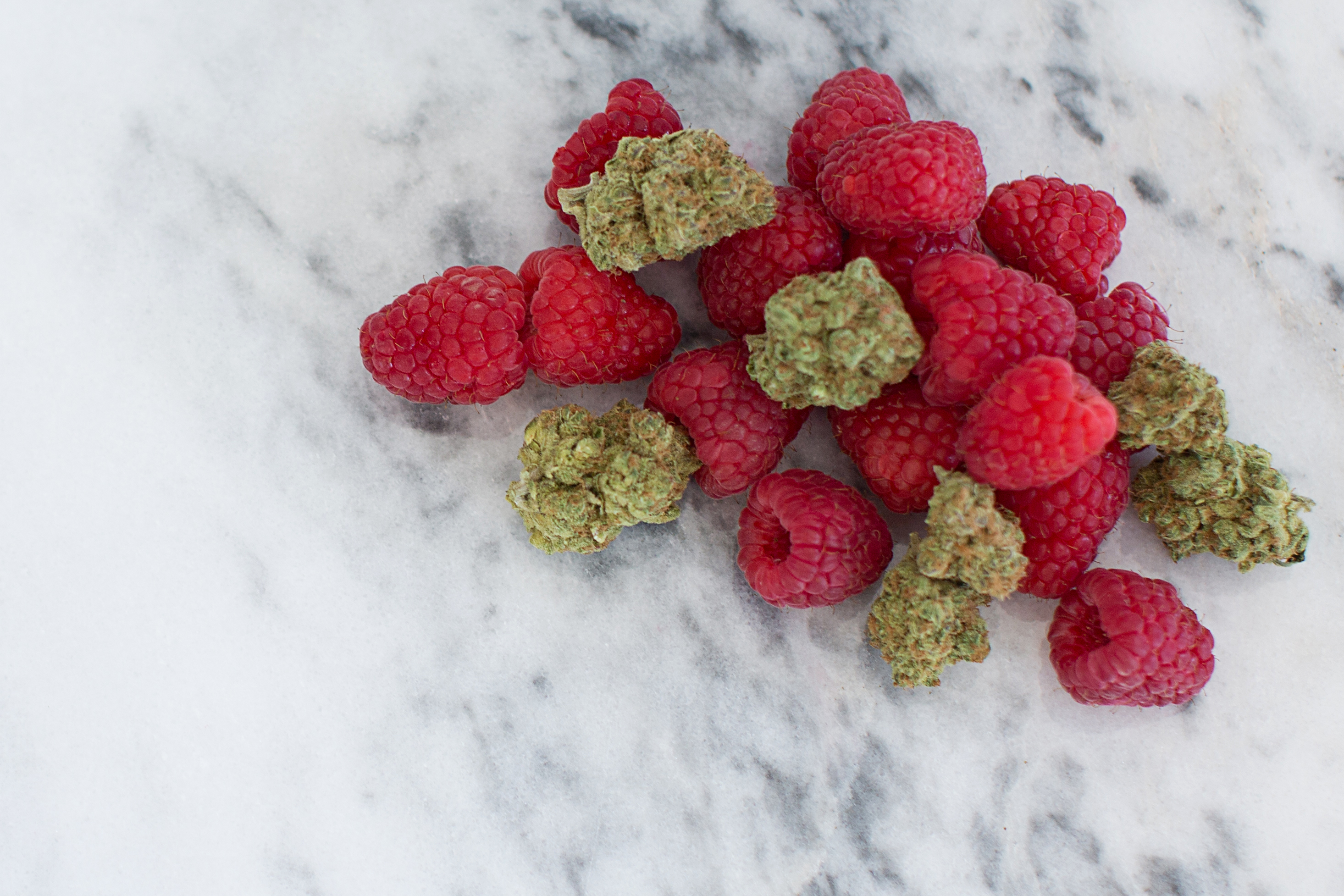 More raspberries than product