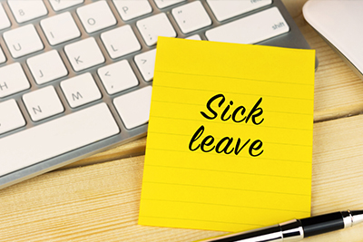 Changes in Sick Leave Begin January 1, 2022