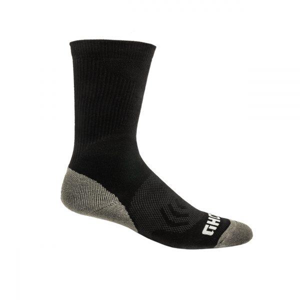 Black Boot Sock
