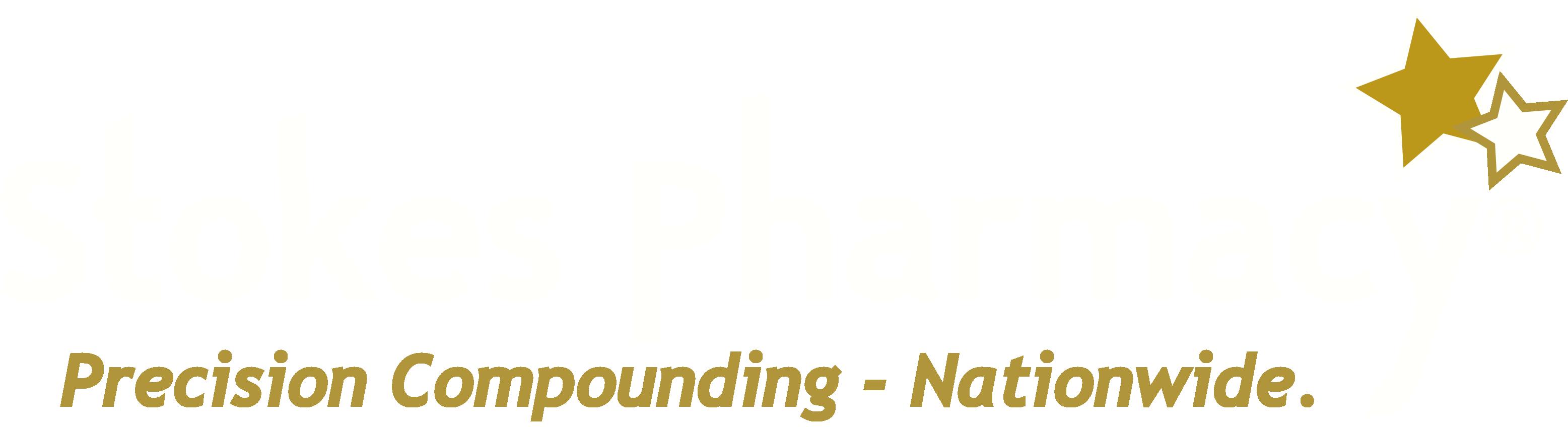 Stokes Pharmacy Logo White