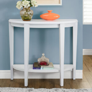ACCENT TABLE – 36″L / WHITE HALL CONSOLE