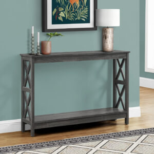 ACCENT TABLE – 48″L / GREY HALL CONSOLE