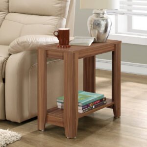 ACCENT TABLE – WALNUT