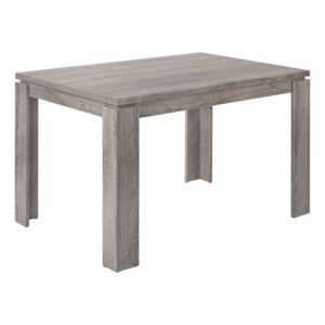DINING TABLE – 32″X 48″ / DARK TAUPE