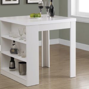 DINING TABLE – 32″X 36″ / WHITE COUNTER HEIGHT