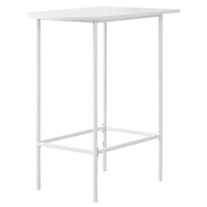 HOME BAR – 24″X 36″ / WHITE TOP AND METAL SPACESAVER
