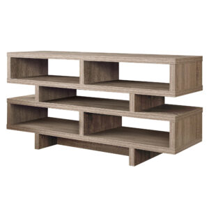 TV STAND – 48″L / DARK TAUPE