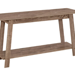 TV STAND – 42″L / DARK TAUPE