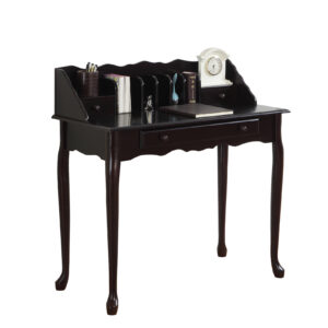 COMPUTER DESK – 36″L / DARK CHERRY TRADITIONAL