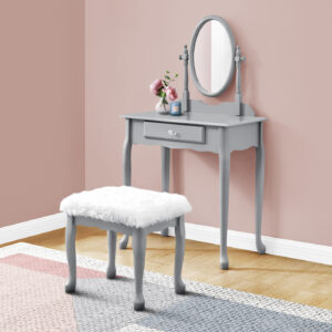 VANITY SET – 2PCS SET / GREY