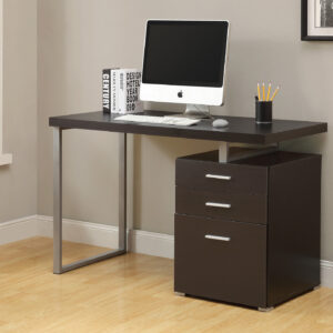 COMPUTER DESK – 48″L / ESPRESSO LEFT OR RIGHT FACING