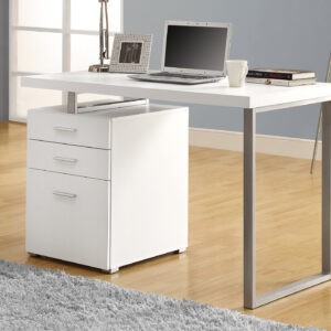 COMPUTER DESK – 48″L / WHITE LEFT OR RIGHT FACING