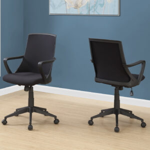 OFFICE CHAIR – BLACK / BLACK MESH / MULTI POSITION