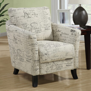 ACCENT CHAIR – VINTAGE FRENCH FABRIC