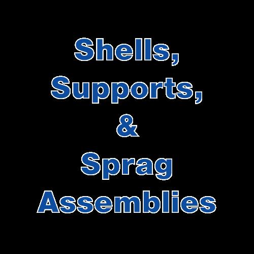Shells, Supports, & Sprag Assemblies