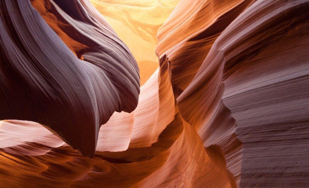 antelope canyon, sandstone, canyon