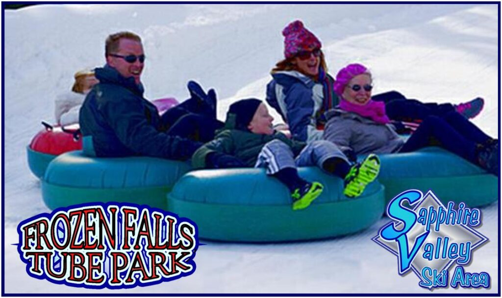 Sapphire Valley Ski Area and Frozen Falls Tube Park Opens Saturday, December 18th!