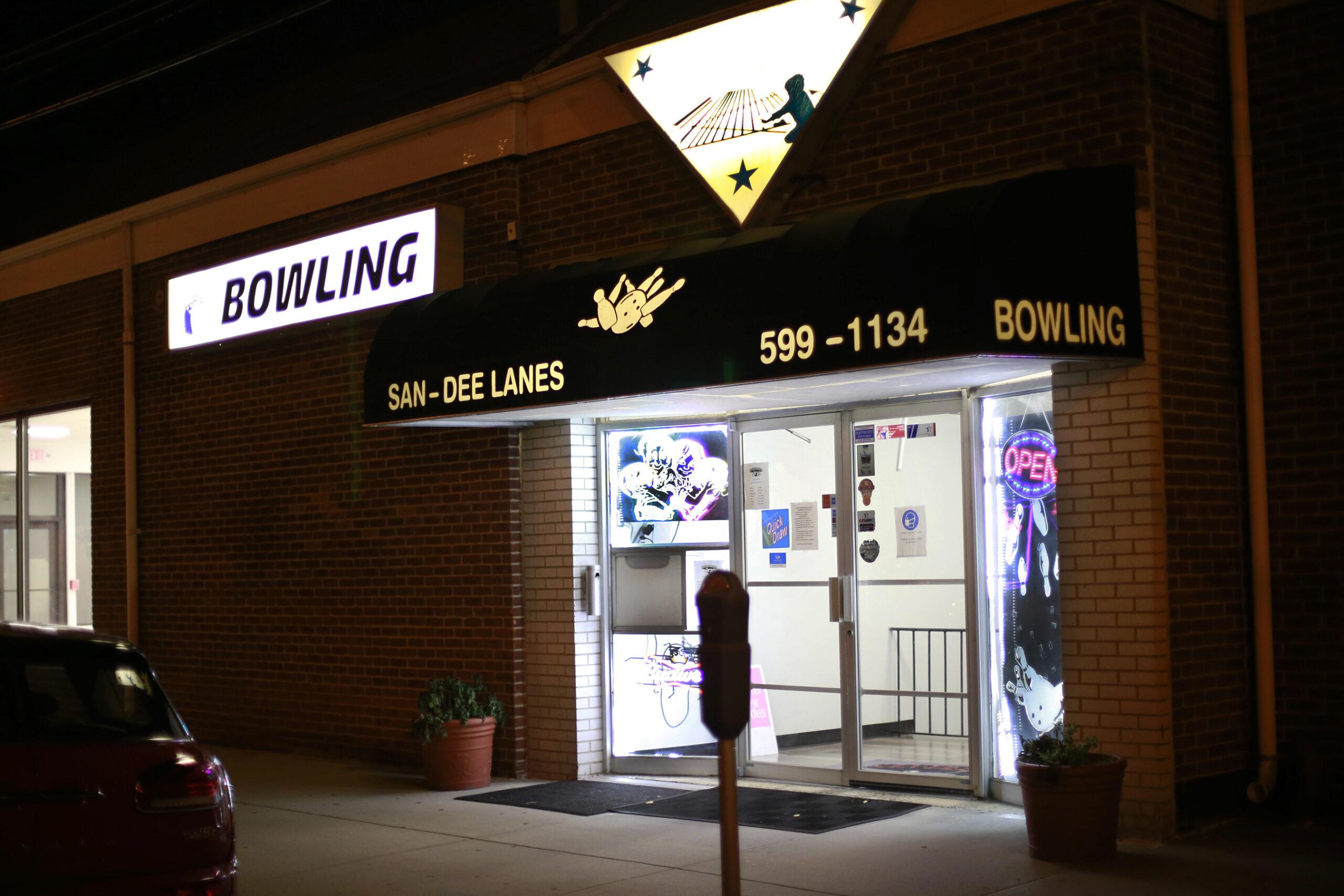 San Dee Lanes Bowling Malverne Lanes