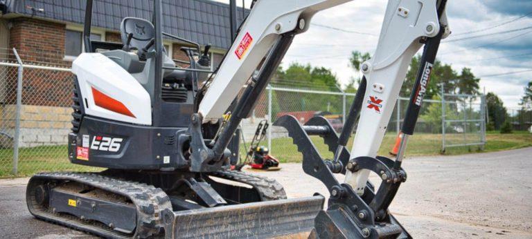 Rentall excavator