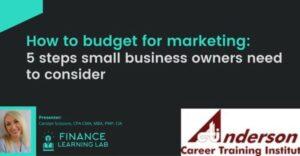 Entrepreneurship, Business, Education, Budgeting