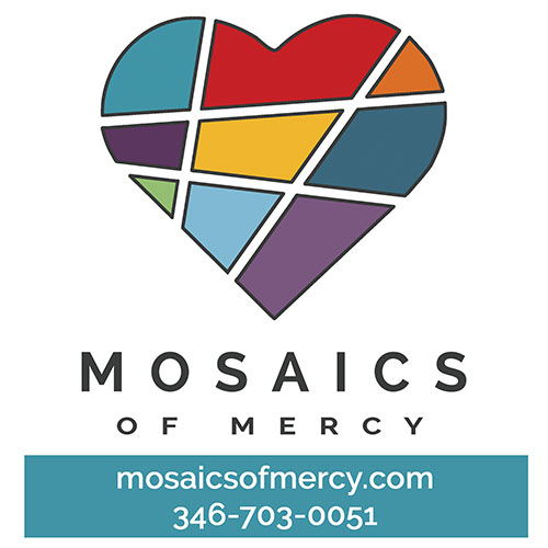 Mosaics of Mercy serves as a hub of hope, resources, and education empowering each journey to mental well-being.