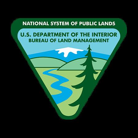 US Department of Interior, Bureau of Land Management Logo