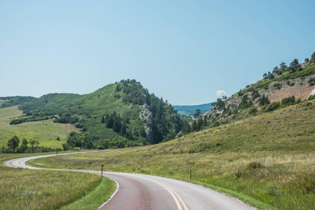 Roxborough State Park roadway