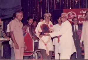Gopichand Award 1988 for Balivada Kantha Rao