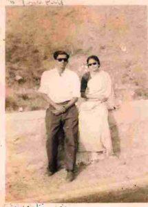 Balivada Kantha Rao with Sarada