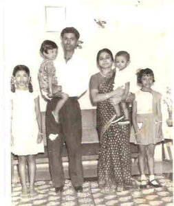 Balivada with family in Visakhapatnam