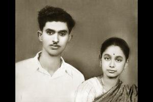 Balivada with wife Sarada