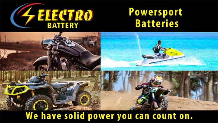Powersport Batteries at Electro Battery in St Petersburg, Florida