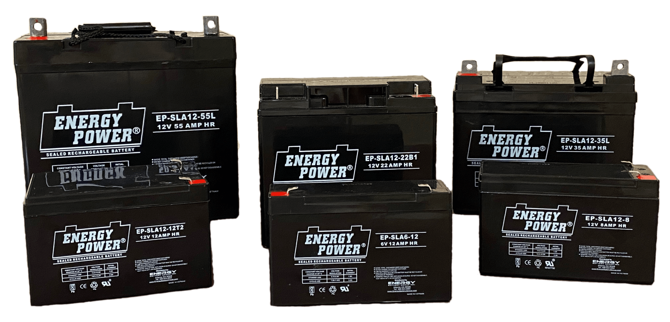 Energy Power AGM Batteries at Electro Battery