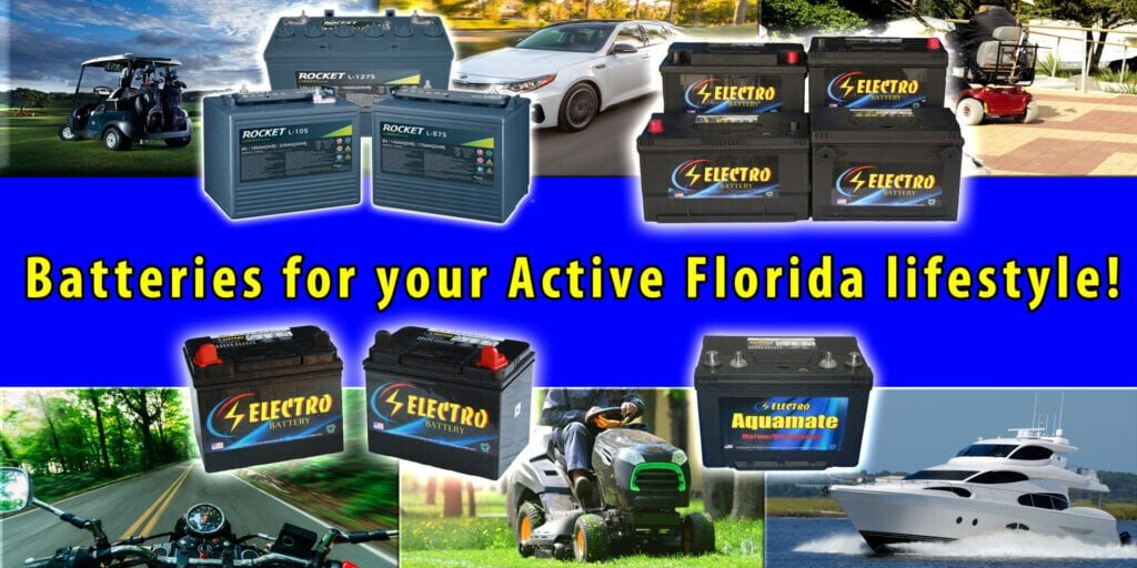 Batteries for your active Florida lifestyle