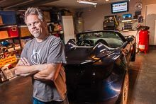 Environmental Portrait: A Guy With A Car In A Garage