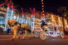 Downtown Riverside Glows Bright During Festival Of Lights