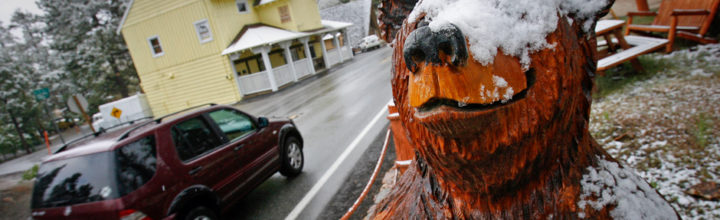 Big Bear Lake, CA: It's About Time We Started Getting Some Snow