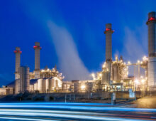 SCE's Mountainview Power Plant By Light of Dawn