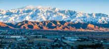 """Banning, CA:  A """"Chamber of Commerce"""" View Following Storm"""