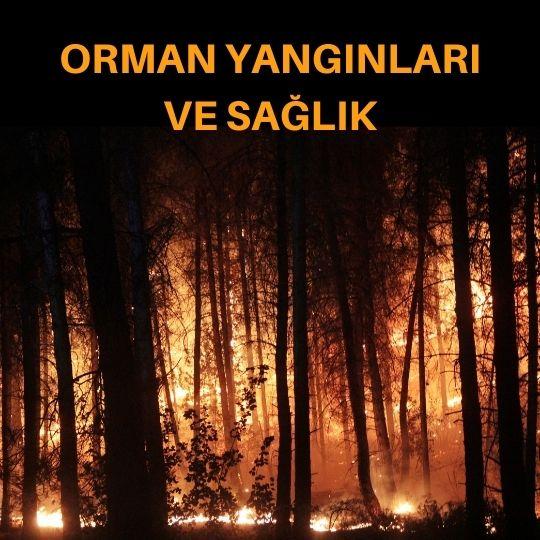 Orman yangınları ve sağlık