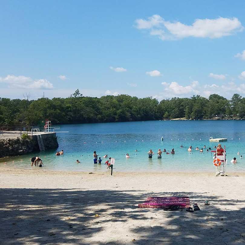 White Star Park Beach, Gibsonburg, OH