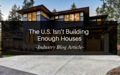 The U.S. isn't building enough houses — and that's not changing anytime soon, economists say