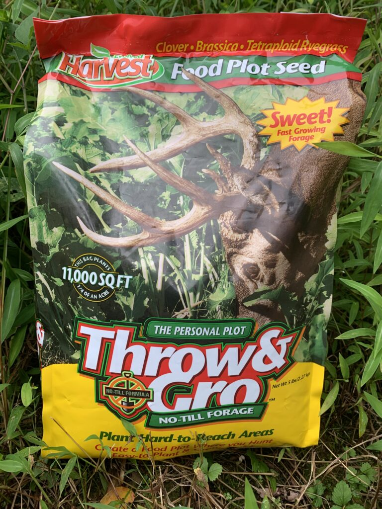 image of  Evolved Habitat's Harvest Throw & Gro, No-till Forage