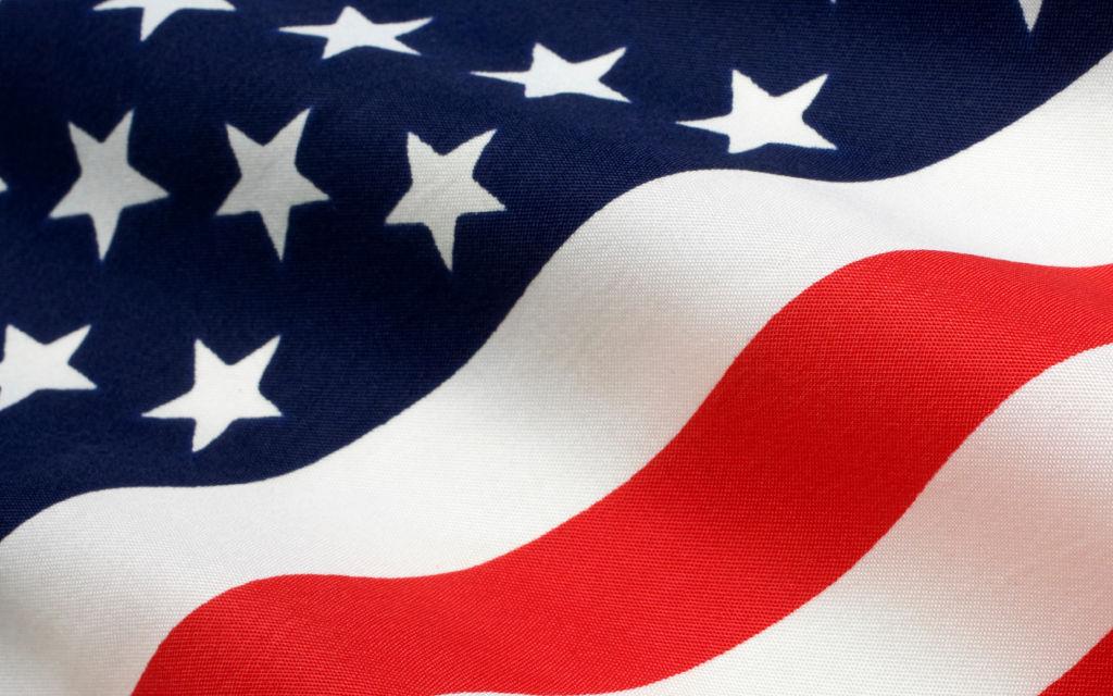 U.S. Flag, United States of America, Stars and Stripes